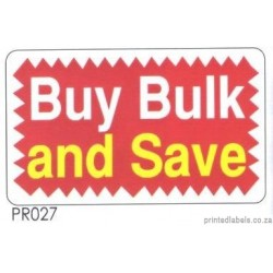 Buy Bulk and Save - 1000 Full colour LABELS