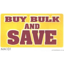 BUY BULK AND SAVE - 1000 Full colour