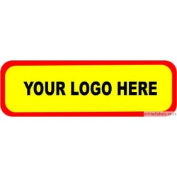 Rectangular -  Custom Labels add your LOGO