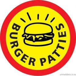 Round -  Burger Patties