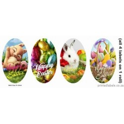 Happy Easter 4 in 1 - 1000 Full colour