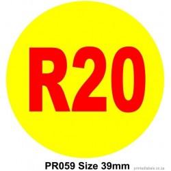 R20 - 1000 Full colour