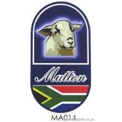 Mutton - RSA - 1000 Full colour