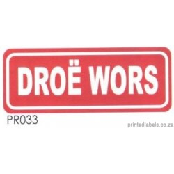 DROE WORS - 1000 Full colour
