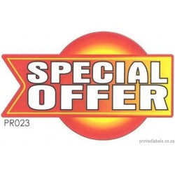 SPECIAL OFFER - 1000 Full colour LABELS