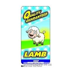 Lamb - TOP CHOICE - 1000 LABELS Full colour
