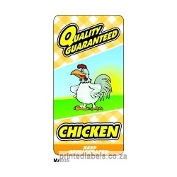 Chicken - QUALITY GUARANTEED - 1000 LABELS Full colour