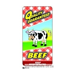Beef - QUALITY GUARANTEED - 1000 LABELS Full colour