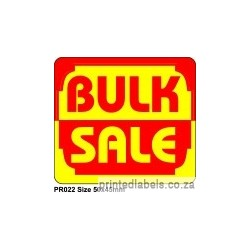 BULK SALE - 1000 Full colour LABELS