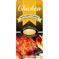 CHICKEN - Butchers Choice - 1000 Full colour