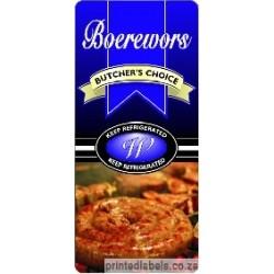 BOEREWORS - Butchers Choice - 1000 Full colour