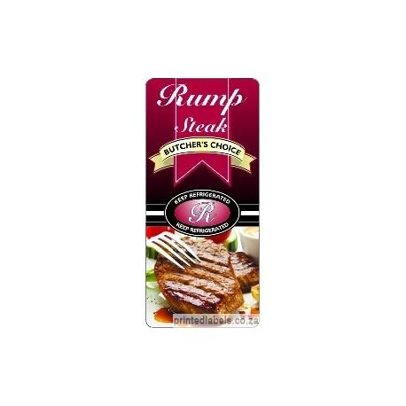 Rump Steak - BUTCHER'S CHOICE - 1000 Full colour