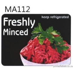 Freshly Minced -  Keep refrigerated - 1000 Full colour