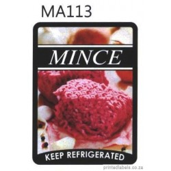 MINCE -  Keep refrigerated - 1000 Full colour