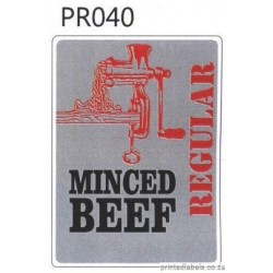 MINCED BEEF -  REGULAR - 1000 Full colour