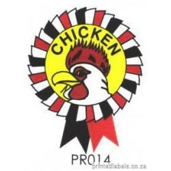 CHICKEN - Rosette - 1000 Full colour